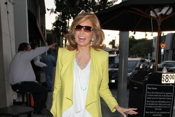 Raquel Welch Celebs Grab Dinner in West Hollywood