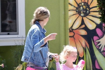 Rebecca Gayheart Rebecca Gayheart Out with Her Daughter