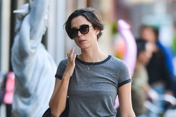 Rebecca Hall Rebecca Hall Walking Through The East Village