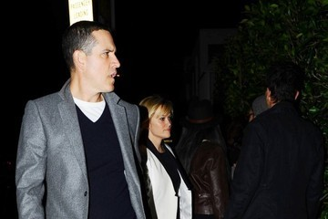 Reese Witherspoon Reese Witherspoon & Jim Toth Enjoy A Date Night