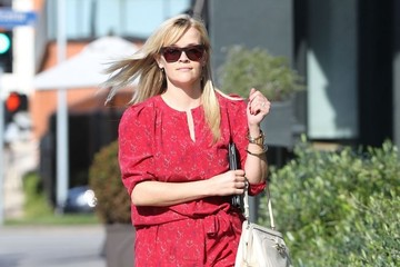 Reese Witherspoon Reese Witherspoon Leaves Lunch 2