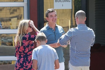 Reese Witherspoon Tennessee Toth Reese Witherspoon And Family Head To Church
