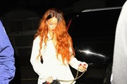 Rihanna Goes to Dinner in Los Angeles