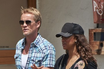 Rob Evans Tyra Banks & New Boyfriend Out In Venice