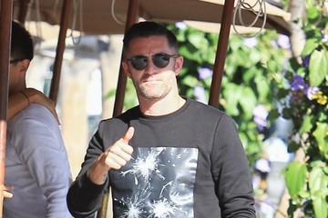 Robbie Keane Robbie Keane Grabs Lunch With Friends In Beverly Hills