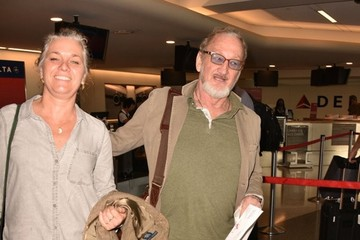Robert Englund Robert Englund at LAX With His Wife