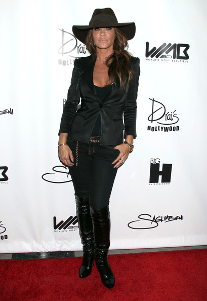 Robin Antin Celebrities attending the World's Most Beautiful Magazine Launch Event at Drai's in Hollywood, CA.