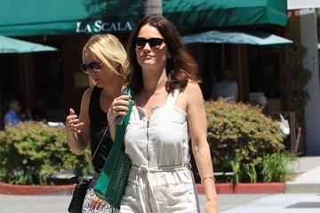 Robin Tunney Robin Tunney Out For Lunch In Beverly Hills