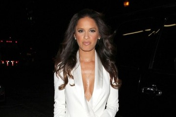Rocsi Diaz Celebs Enjoy a Late Night Out