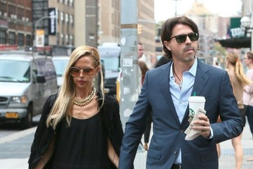 Rodger Berman Rachel Zoe & Rodger Berman Hold Hands In New York