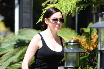 Rose McGowan Rose McGowan Out and About in Hollywood