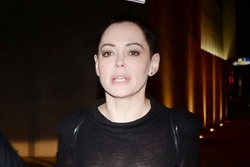 Rose McGowan Celebrities Enjoy A Night Out At Craig's