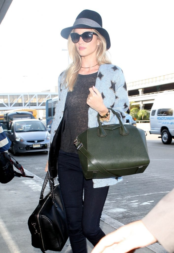 Rosie Huntington-Whiteley Leaves LA — Part 2