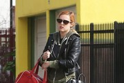 Rumer Willis Takes a Stroll in Hollywood