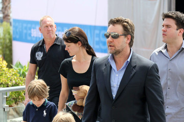 Tennyson Crowe Russell Crowe & Cate Blanchett Arriving At 63rd Annual Cannes Film Festival