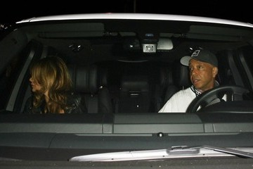 Russell Simmons Celebs Dine Out At Craig's