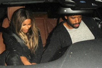 Russell Wilson Celebrities Enjoy a Night Out at The Nice Guy