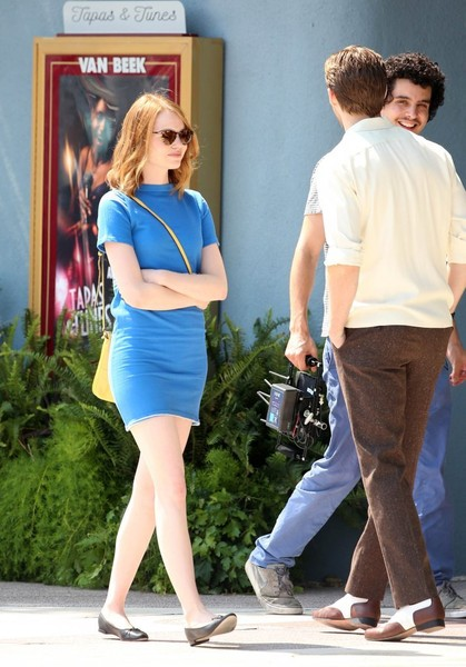 22d1cf54fb7 Ryan Gosling and Emma Stone Photos Photos - Stars Perform on the Set ...