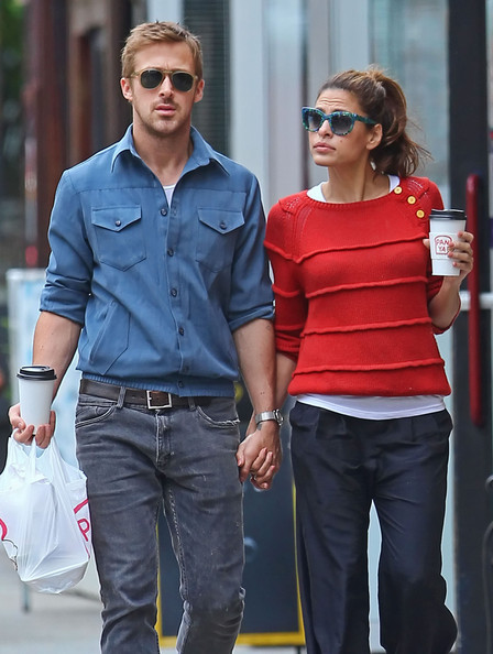 Ryan Gosling And Eva Mendes Holding Hands After Lunch []