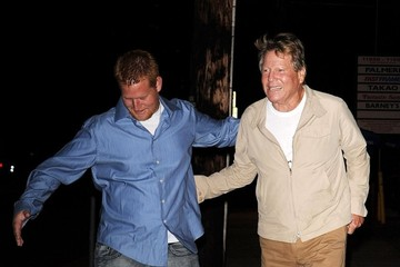 Ryan O'Neal Ryan O'Neal Out Late in Brentwood