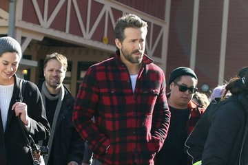 Ryan Reynolds Celebrities At The 2015 Sundance Film Festival