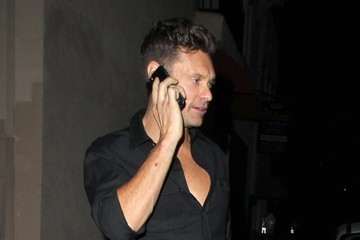 Ryan Seacrest Celebrities Enjoy A Night Out At Warwick Nightclub