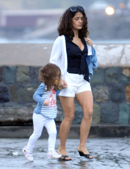 salma hayek husband and daughter. Salma Hayek Actress Salma