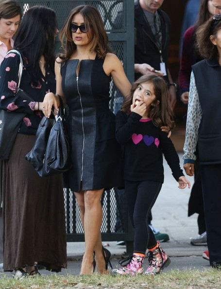 Photo of Salma Hayek & her Daughter  Valentina Paloma Pinault