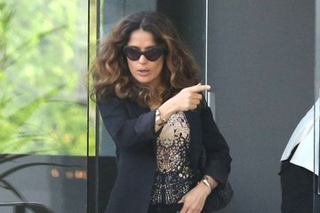 Salma Hayek Salma Hayek Shops for Furniture