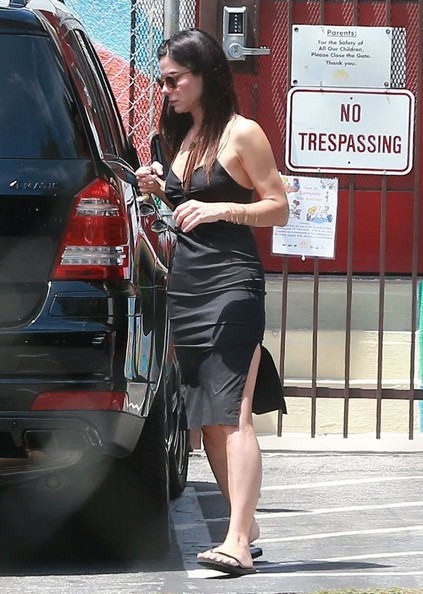 Sandra Bullock Out and About with Louis