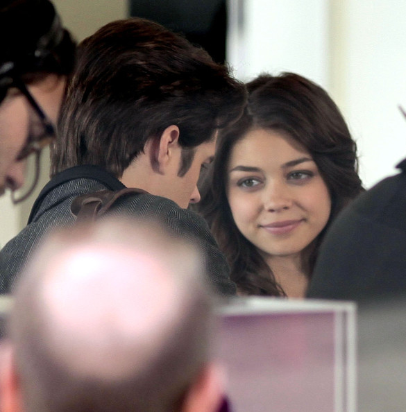 Sarah Hyland On The Set Of 'Geek Charming' In Vancouver