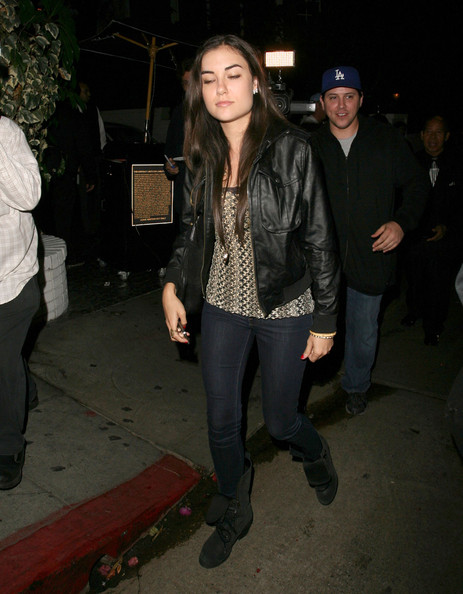 Former porn star Sasha Grey leaves Chateau Marmont in West Hollywood, ...
