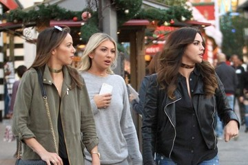 Scheana Marie Stassi Schroeder And Scheana Marie Shop At The Grove With A Friend