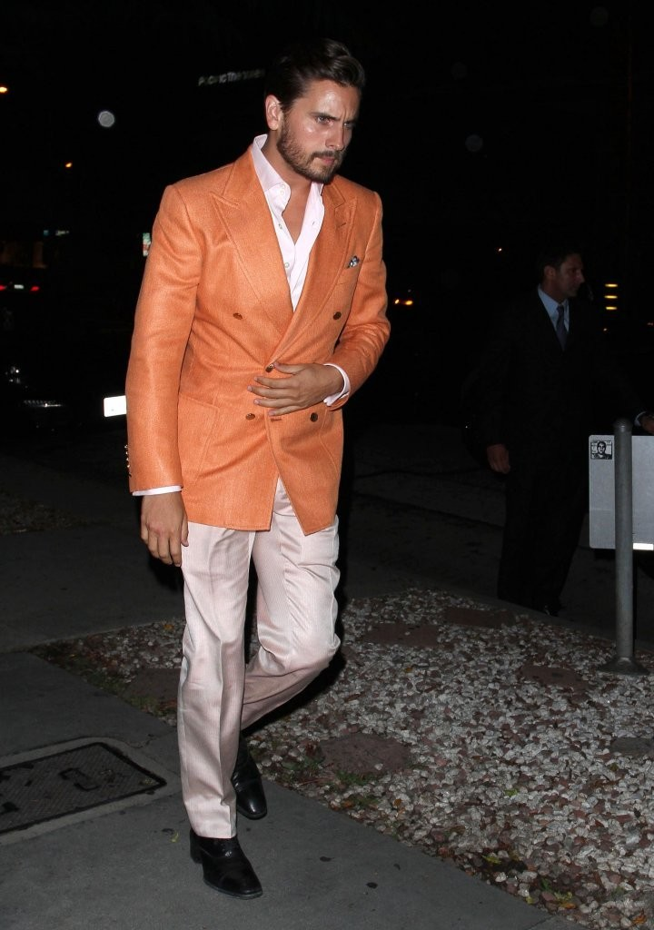 Scott Disick Suits Up for a Night Out in Hollywood - Zimbio