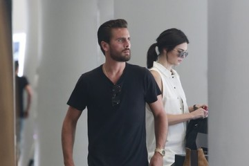 Scott Disick Kendall Jenner and Scott Disick Are Seen at Il Pastaio in Beverly Hills