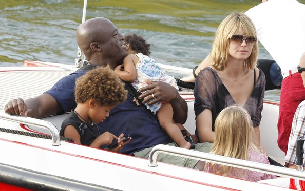 seal heidi klum children. Seal Heidi Klum, Seal and