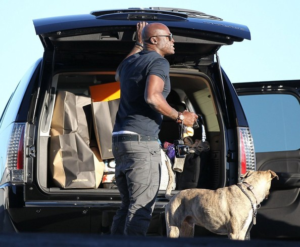Seal Takes His Kids Shopping For Snowboarding Gear