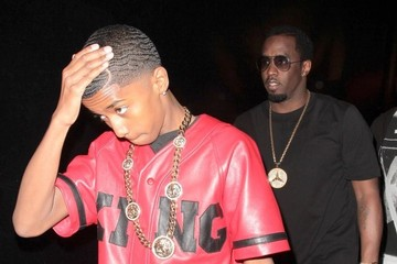 Sean Combs Christian Combs Celebs Attend Christian Combs' Birthday Party