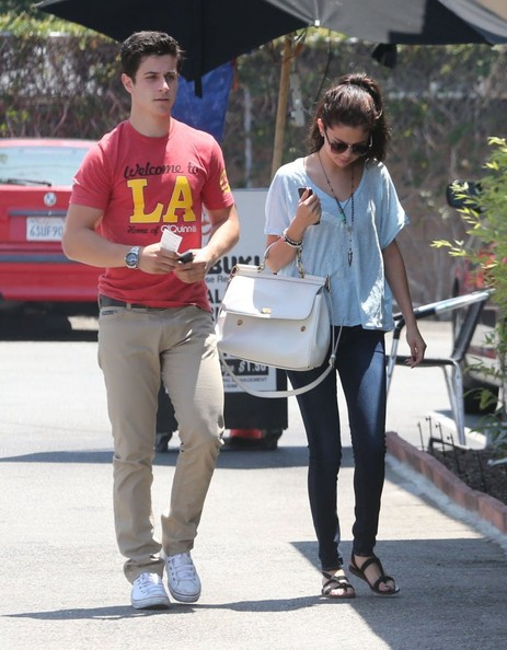 'Spring Breakers' actress Selena Gomez and actor David Henrie out on a lunch date at Kabuki in Hollywood, California on June 8, 2013. Could David be Selena's new love interest?
