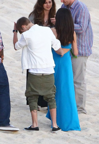 Selena Gomez - Justin and Selena Pack on PDA at Wedding