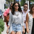 Selena Gomez Grabs Lunch in West Hollywood