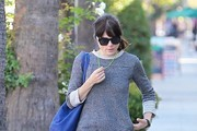Selma Blair Visits the Nail Salon