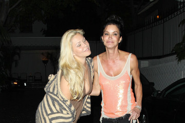Shanna Moakler Janice Dickinson Janice Dickinson and Shanna Moakler Out at Chateau Marmont