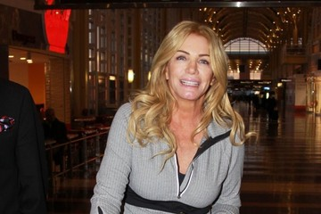 Shannon Tweed Gene Simmons & Shannon Tweed Catch A Flight Out Of D.C.