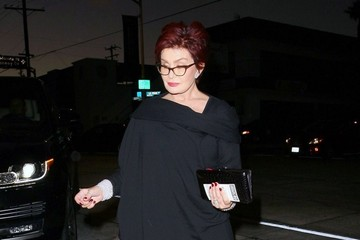 Sharon Osbourne Celebrities Dine Out At Craig's Restaurant