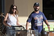 Shia LaBeouf & Mia Goth Grocery Shopping At Gelson's Market