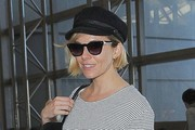 Sienna Miller Departing On A Flight At LAX