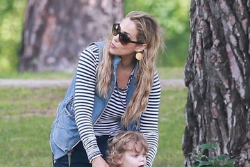 Sky Lauren Elizabeth Berkley Enjoys a Day at the Park