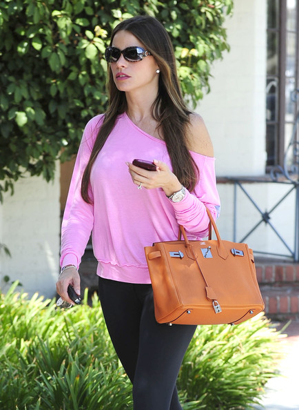 Sofia Vergara Stopping By A Dermatologist In Beverly Hills