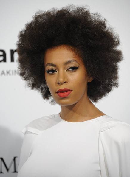 Solange Knowles - Milan Womens Fashion Week Spring/Summer 2013 - amfAR Charity Auction Red Carpet